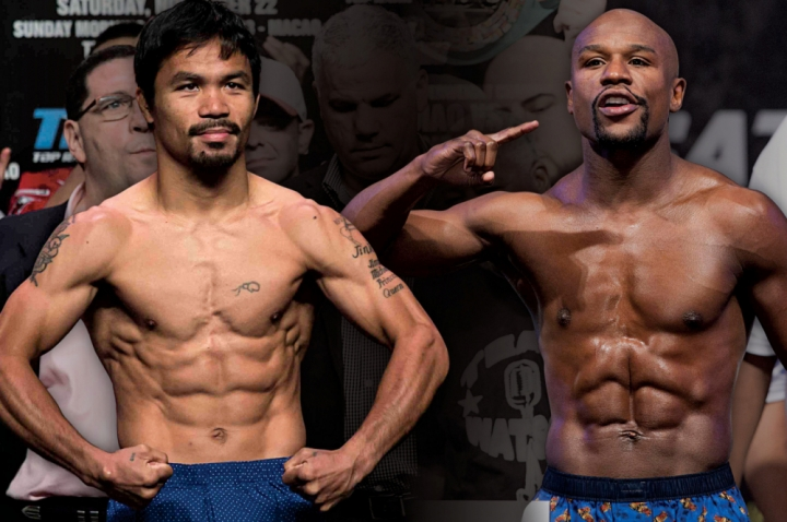 Pacquiao-vs-Mayweather-weigh-in